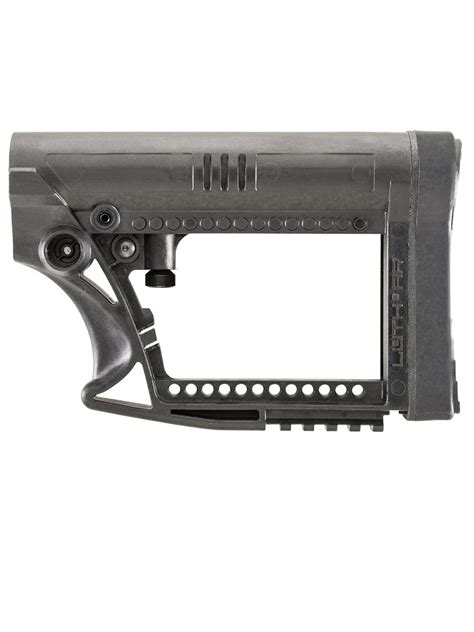 Luth Ar Mba 1 Black W 223 Buffer Assembly by Mba 4 Carbine Buttstock Luth Ar