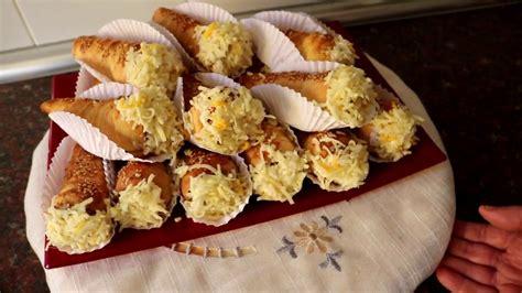 cuisine alg駻ienne cuisine alg 233 rienne les cornets sal 233 s كورني مالح matbakh