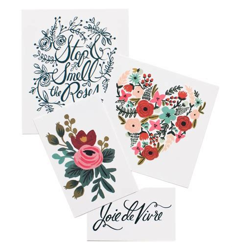 floral temporary tattoos floral set temporary tattoos by tattly made in usa