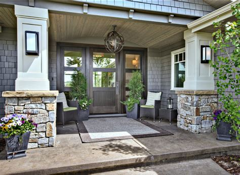 create a welcoming entrance with a new front door home