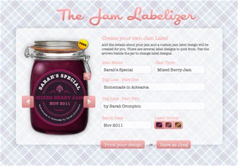 Label Drucken Programm Kostenlos by A Nifty Jam Label Generator How About Orange