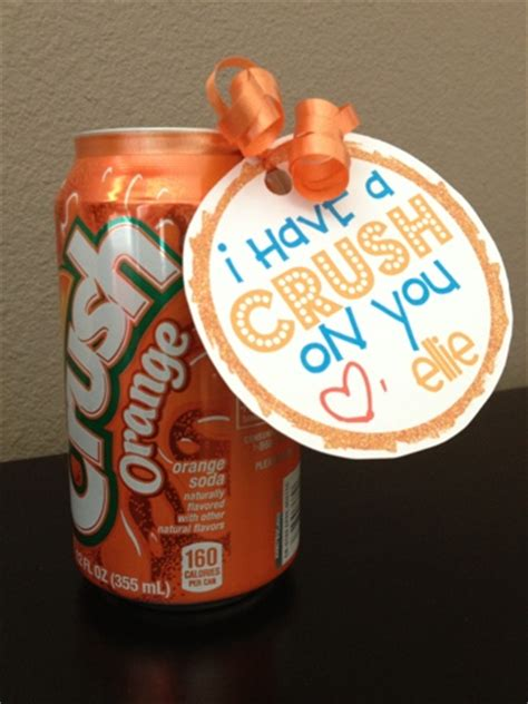 valentines gifts for your secret crush i a crush on you soda can free printable