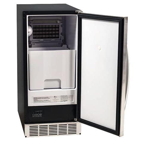 under cabinet ice maker with pump 9 questions about built in undercounter ice makers