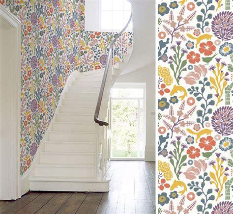 Papier Peint Style Nordique by Papiers Peints Pour Un Escalier Scandinave Au Fil