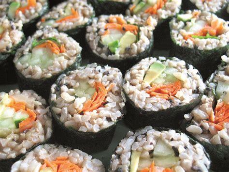 veggie sushi rolls recipe dishmaps