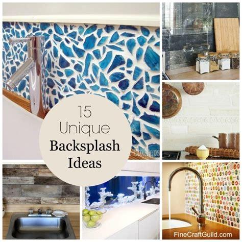 different backsplash ideas 15 unique kitchen backsplash ideas