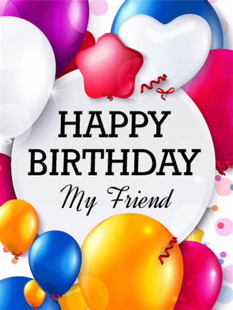 Birthday Friend birthday card for friend gangcraft net