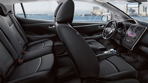 nissan leaf 2016 interior 2016 nissan leaf review