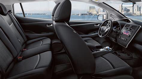 nissan leaf interior automotivetimes com 2015 nissan leaf review