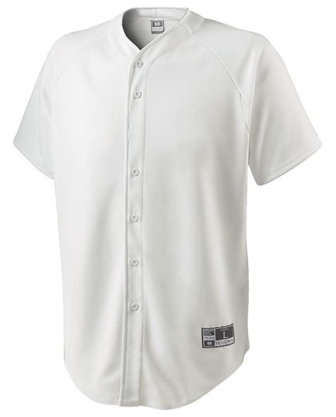 Hl Plain Shirt plain black and white baseball jersey