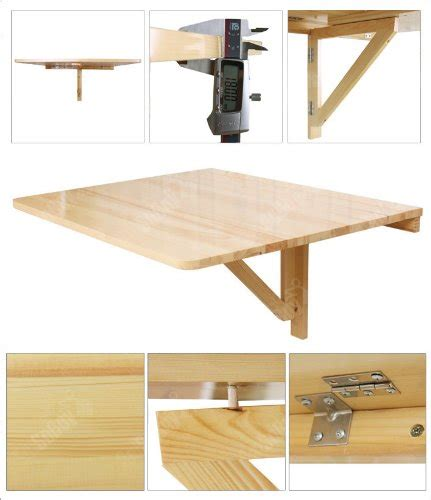 folding kitchen table wall mounted images and photos