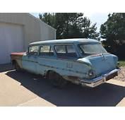 1958 Chevy Yeoman 2 Door Wagon Hot Rod Street Rat  Classic Chevrolet