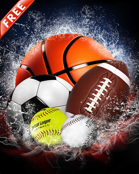 free 16x20 sports background splash collection free
