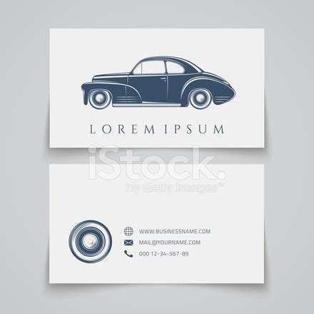 car radar business card template visitenkarte oldtimer logo stockfotos freeimages