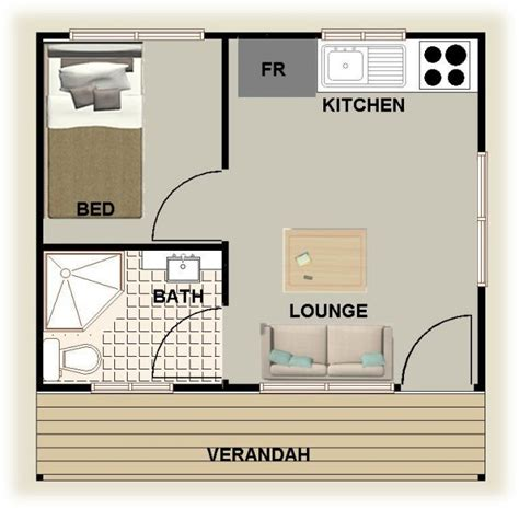 granny house plans plan no 25 cabin 1 bedroom granny flat australian home