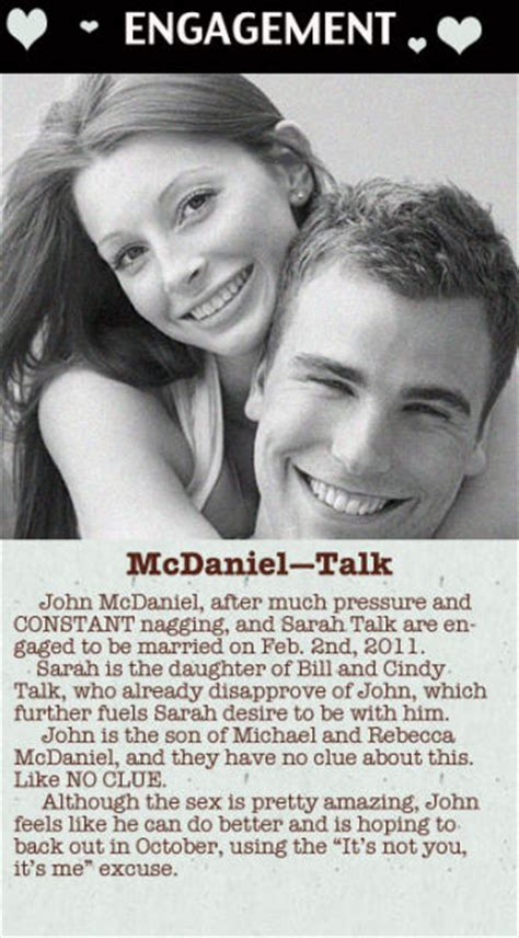 Upcoming Wedding Announcement Newspaper by Wedding Announcements Cold 5 Pics Izismile