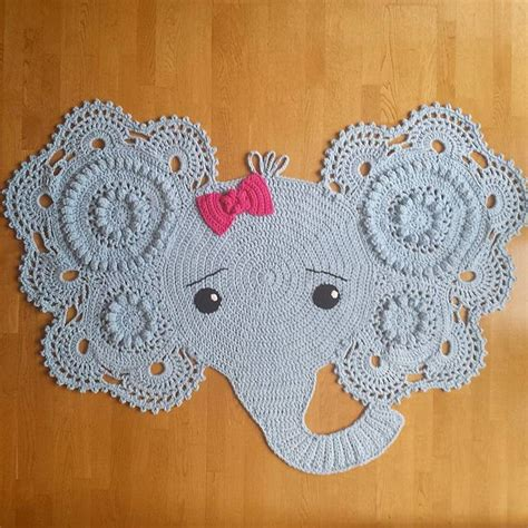Elephant Rug Knitting Pattern by Crochet Elephant Rug Pattern Free Wmperm For