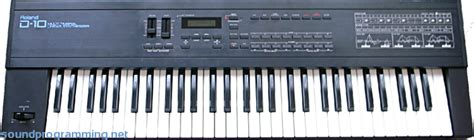 Keyboard Roland D5 Roland D 10 Sound Programming