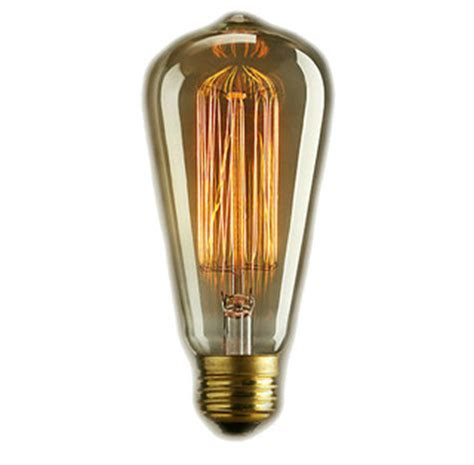 Edison Style   Vintage Antique Light Bulb 60 Watt, 5.5