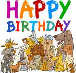 happy birthday dog clipart free clipartsgram com