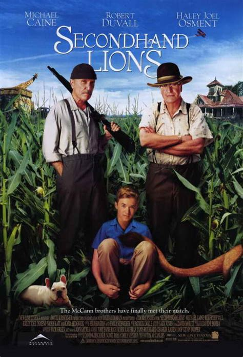 film second hand lion secondhand lions movie posters from movie poster shop