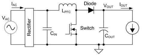 pfc output capacitor rms current predicting output capacitor ripple in a ccm boost pfc circuit power house blogs ti e2e