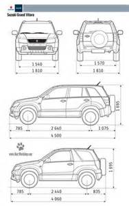 Suzuki Measurements Suzuki Blueprints Suzuki Grand Vitara 2011 Free