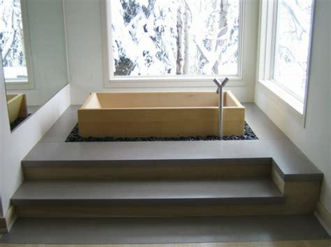 Baignoire Bois Japonaise by Comment Concevoir Une Salle De Bain Japonaise