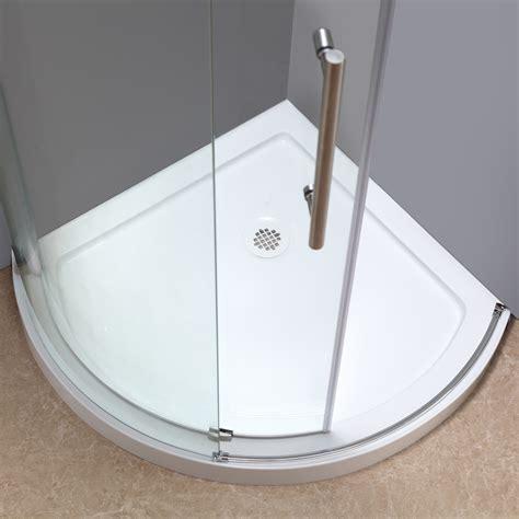 round showers bathroom orbitus completely frameless round sliding shower