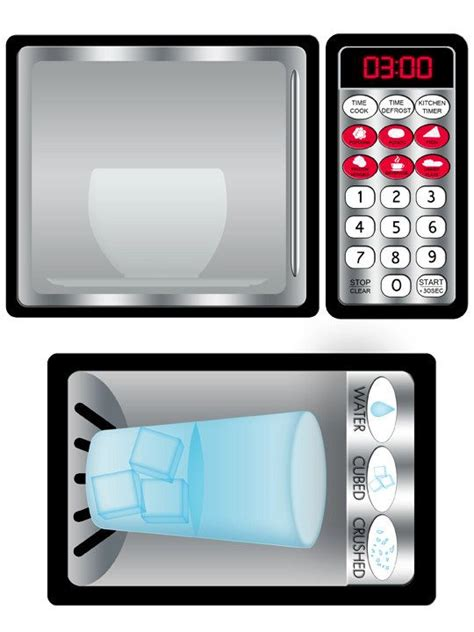 printable play kitchen templates diy play kitchen printable stainless refrigerator and