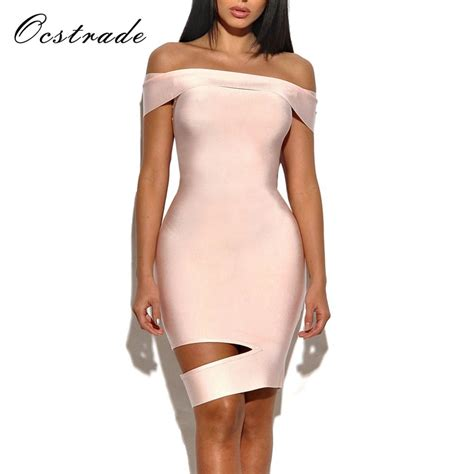 Cut Out Shoulder High Quality Ocstrade High Quality New Fashion Pink Cut Out