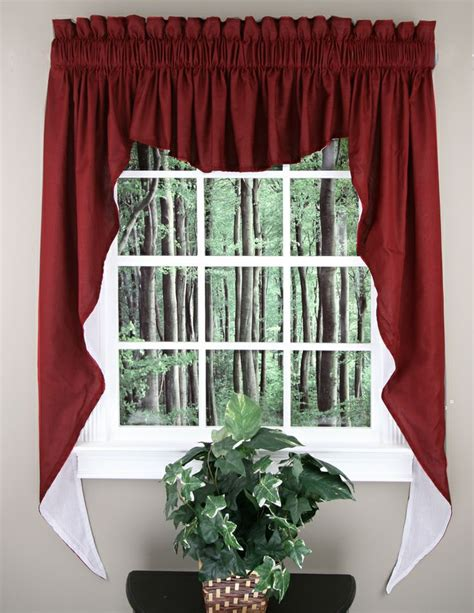 Swag Curtains For Kitchen 1000 Images About Jabot Swag Kitchen Curtains On Pinterest Parks Popular And Vienna