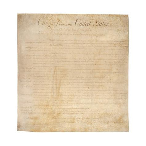 printable constitution poster the bill of rights the first ten amendments to the us