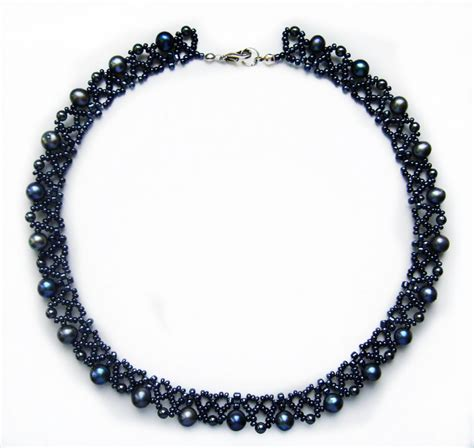 beaded bead tutorial free pattern for necklace elegance magic