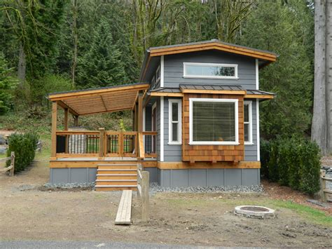 tiny house with deck tiny house design with porch pinterest home decor