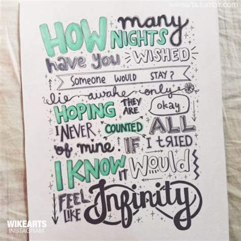 lyrics to infinity one direction lyric drawings infinity search