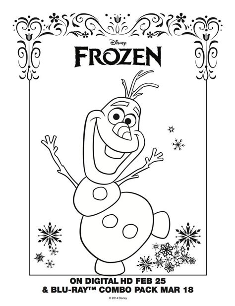 frozen coloring pages olaf in summer 10 images about disney frozen coloring sheets on