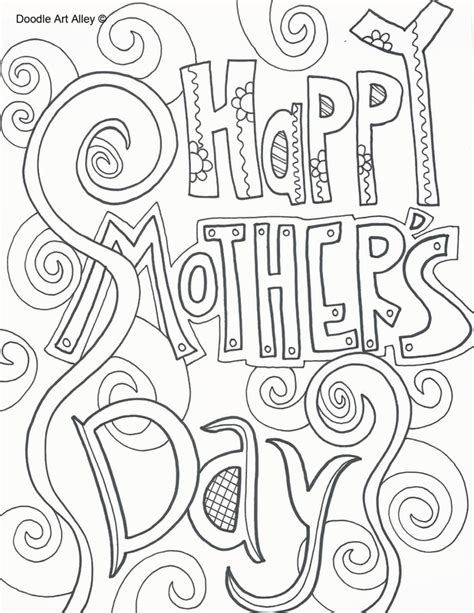 happy mothers day coloring pages www pixshark