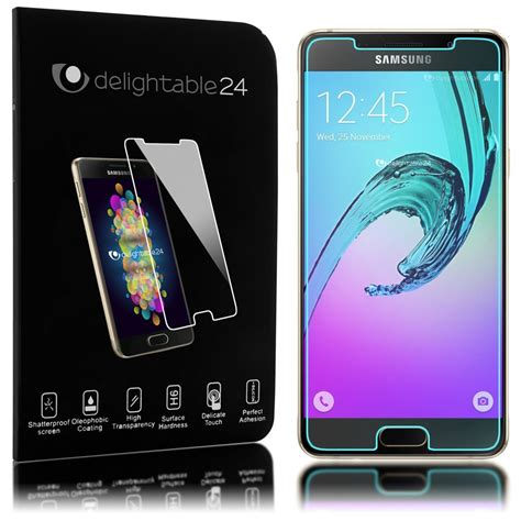 Panzer Pro Tered Glass For Samsung Galaxy A3 samsung galaxy a3 2016 panzerglas schutzfolie nica 2 5d cover 9h glass 4058906021007