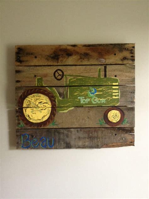 john deere home decor tractor boys rustic wall art old tractor farm barn bedroom