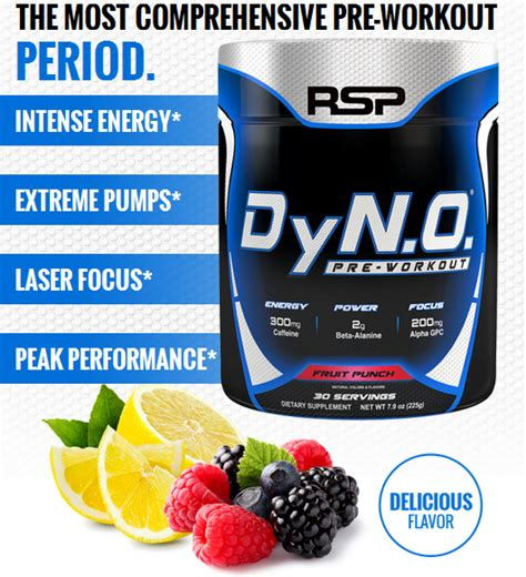 Laris Rsp Dyno Pre Workout 30 Serving rsp nutrition dyno indonesia by provit nutrition