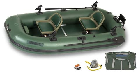 inflatable fishing boat prices sea eagle sts10 2 person inflatable pontoon fishing boat