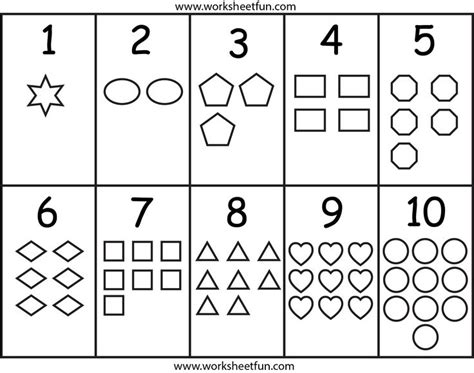 coloring pages numbers and shapes coloring pages of shapes and numbers murderthestout