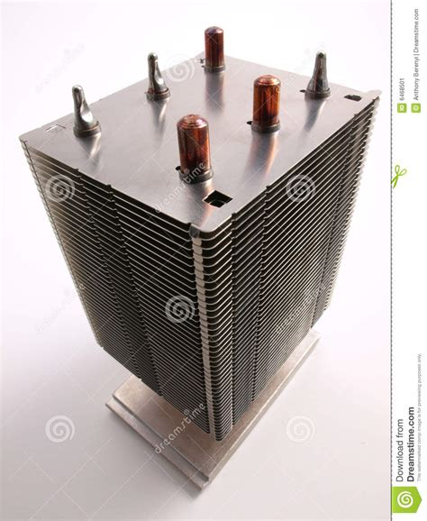 what is heat sink in computer cpu heat sink top view stock image image 6468501
