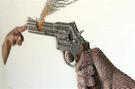 gun made of screws