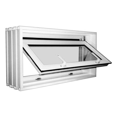 replacement basement windows lowes shop wellcraft 31 quot x 16 1 2 quot tilting vinyl pane