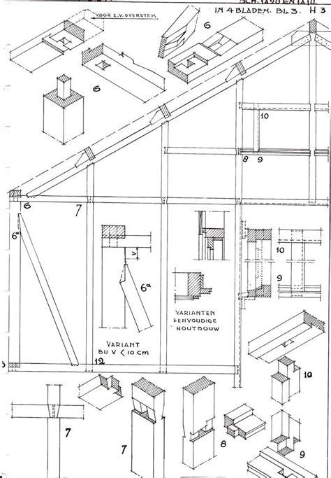 lade dwg houtskeletbouw bouwkundig detailleren details bouwkunde