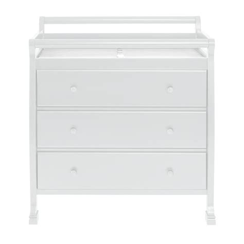 Kalani Changing Table Davinci Kalani Pine Wood 3 Drawer Changing Table In White M5555w