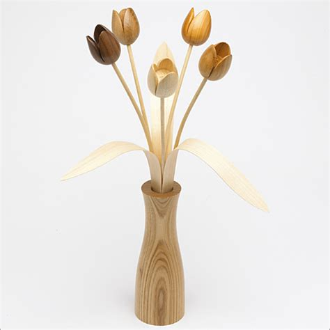 Not Just Flowers But Wooden Flowers by Plans To Build Wood Tulips Pdf Plans