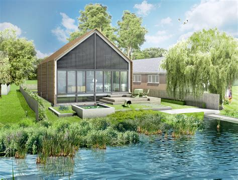 floating homes and the future apparently are here